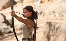 'Tomb Rider', vuelve Lara Croft con apenas fuerzas