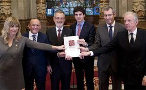 Eusko Ikaskuntza cumple 100 años y se asegura el apoyo de las instituciones de la CAV y Navarra