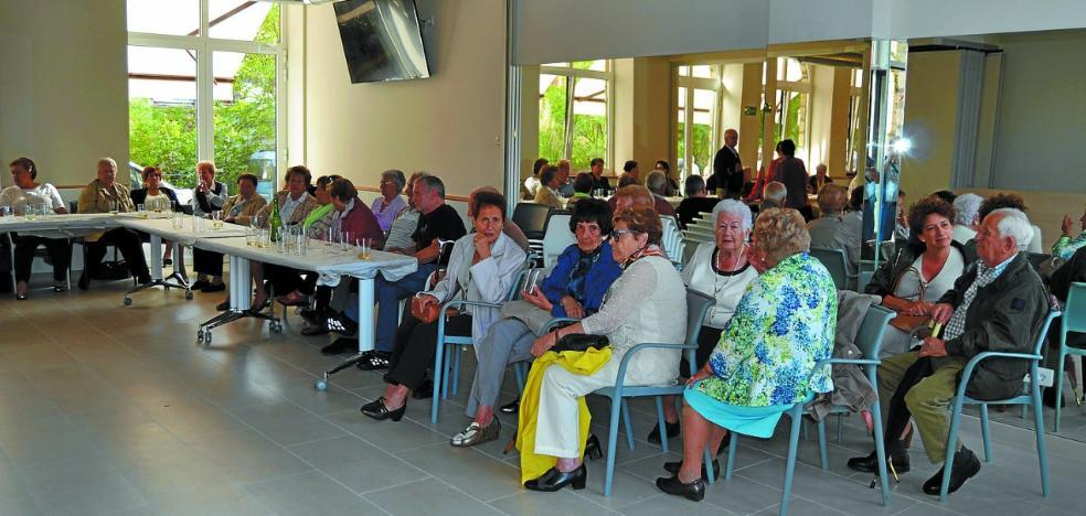 Encuentro de jubilados de Gipuzkoa