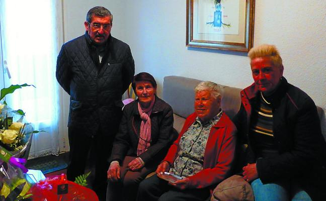 Bitoriana Artola, centenaria