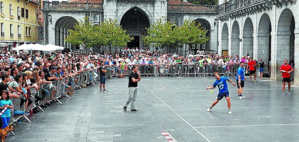 28 parejas masculinas y 16 femeninas competirán en el Torneo de Pala de Elgoibar