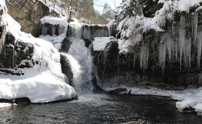 Las cascadas de los pastores en la Sierra Cebollera