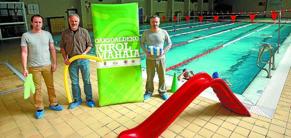 Nuevo acuerdo para el uso común de las piscinas de Oarsoaldea