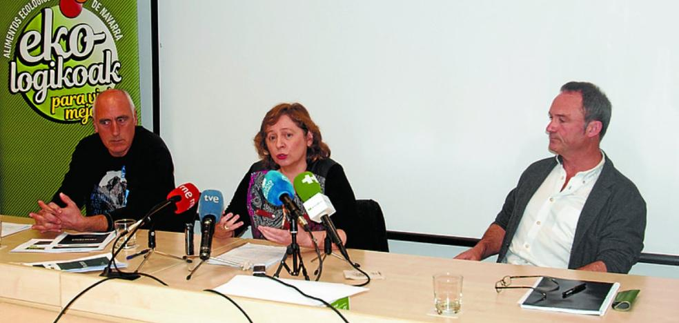 La superficie agraria ecológica aumentó en Navarra un 18% durante el año pasado