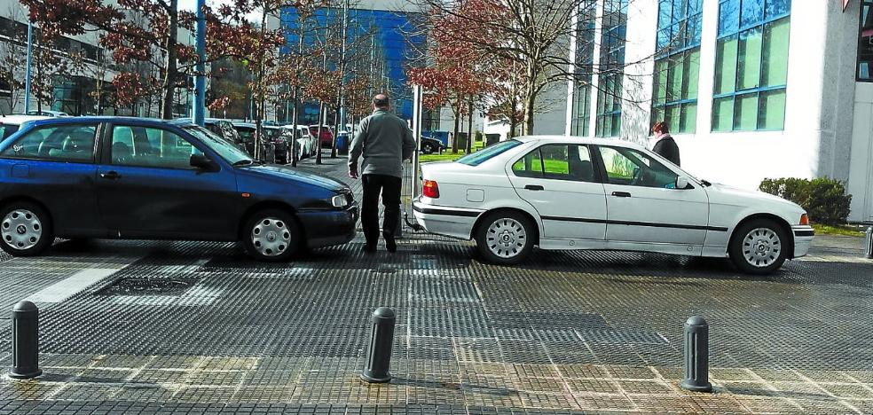 El aumento de las multas en Zuatzu llega tras asumir Movilidad la gestión del tráfico