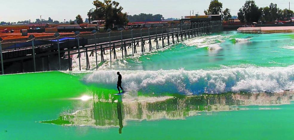 Las piscinas de olas llegan al Mundial