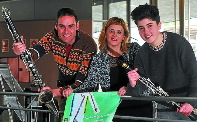 El clarinete reinará mañana en el festival que se celebrará en Bastero