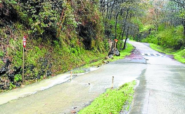 El camino de acceso a Azkorte quedará cerrado al público durante 6 semanas
