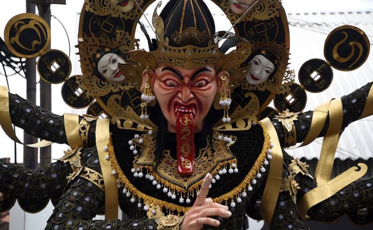 'Día del silencio' en Bali