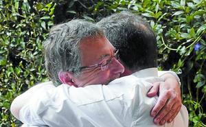 El abrazo de Lasarte: el día que Andoni volvió a casa de Martín