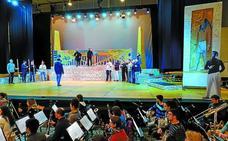 'Aida' transforma Irun en Egipto en la 'arena' de Ficoba