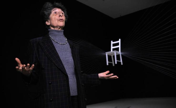 Esther Ferrer expone en el Guggenheim