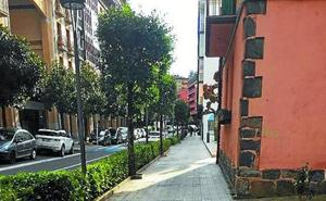 Obras para restablecer el pavimento en la calle Labeaga