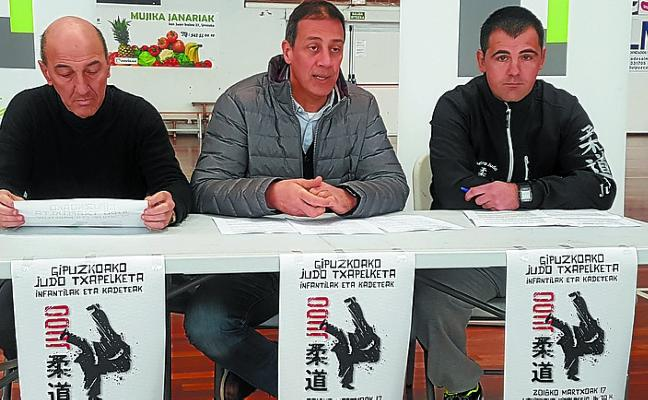 Más de 150 judokas de todo Gipuzkoa se dan cita hoy en el Polideportivo