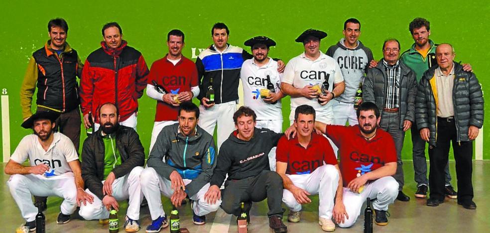 Gorka Urtasun, Juan Maia y Joxe Itoiz ganan el XVIII Campeonato de Paxaka