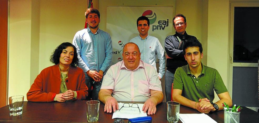 Aitor Alberdi vuelve a la política para presidir la Junta Municipal de EAJ-PNV