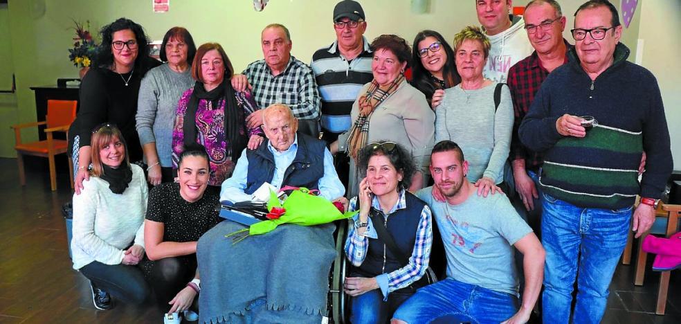Agapito, residente centenario