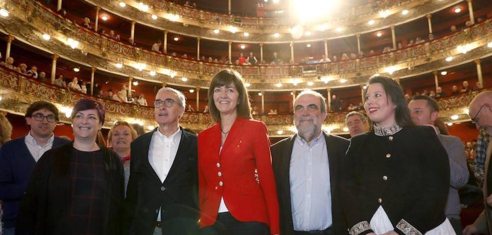 Idoia Mendia llama a los progresistas vascos a sumar «fuerzas y energías»