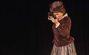 Teatro del Barrio presenta hoy en el Principal un monólogo sobre Emilia Pardo Bazán