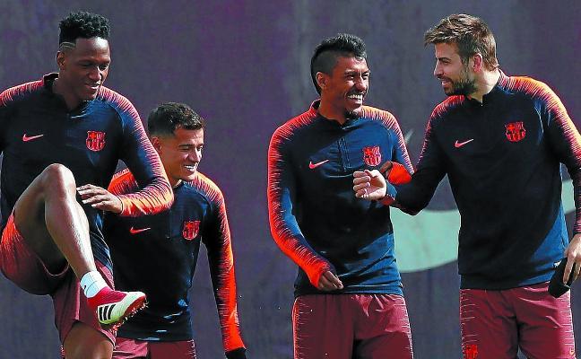 El Barça recibe al Athletic sin Suárez ni Busquets