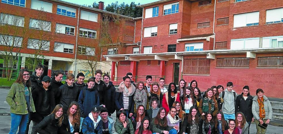 Estudiantes bretones, de visita en un intercambio muy «enriquecedor»