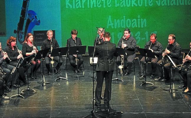 El clarinete encuentra en Bastero una excelente plataforma