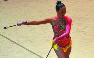 La gimnasta Nahia Argüiz Vita se impuso en la primera la fase de la Liga Vasca