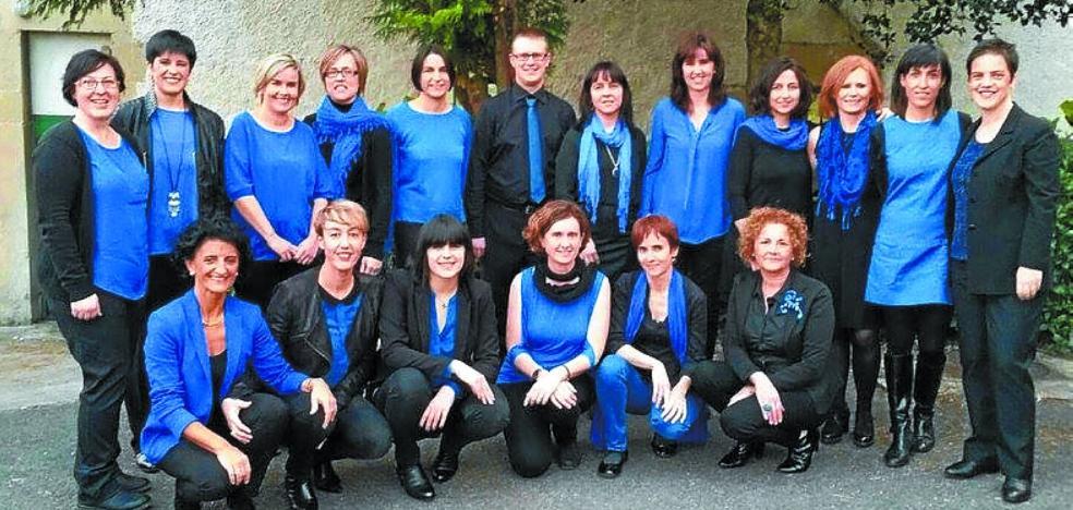 Concierto del coro irundarra Náyade dentro del Ciclo de música sacra de Eskifaia