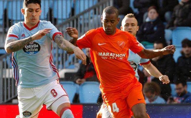 Un empate sin goles aleja al Celta y Málaga de sus objetivos