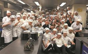 El 'tour' del Rey emérito Don Juan Carlos pasa por Martin Berasategui