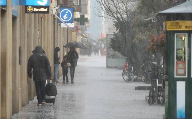 Gipuzkoa estará en alerta naranja por nieve mañana y el martes