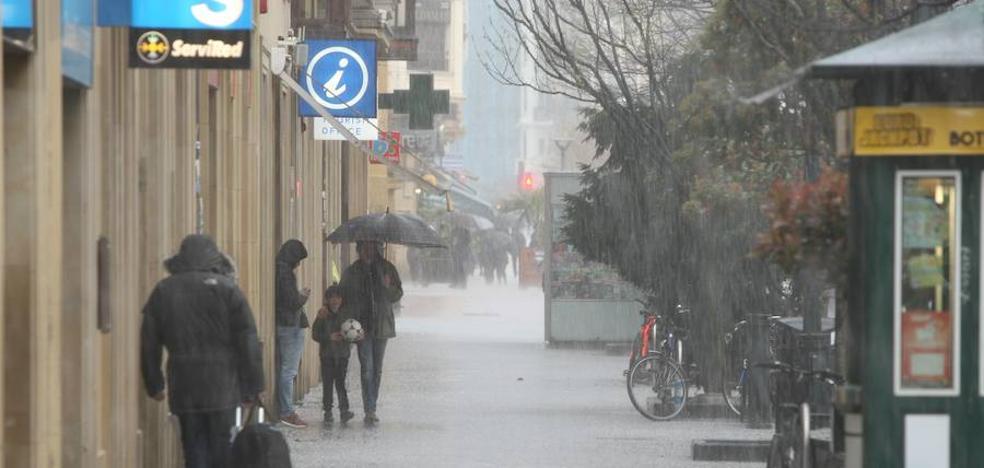 Gipuzkoa estará en alerta naranja por nieve el lunes y el martes