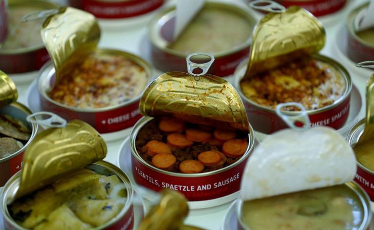 Comida de astronautas