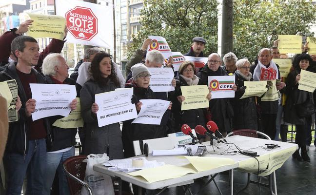Colectivos sociales de Gipuzkoa reclaman que la nueva RGI atienda a más personas