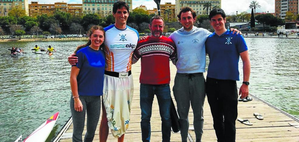 Iñigo Peña se cuelga la medalla de bronce del Campeonato de España de Invierno