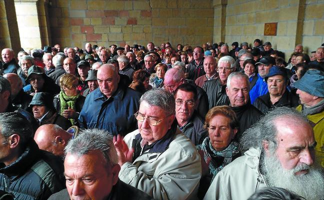 Los pensionistas convocan en Irun una manifestación para el 14 de abril