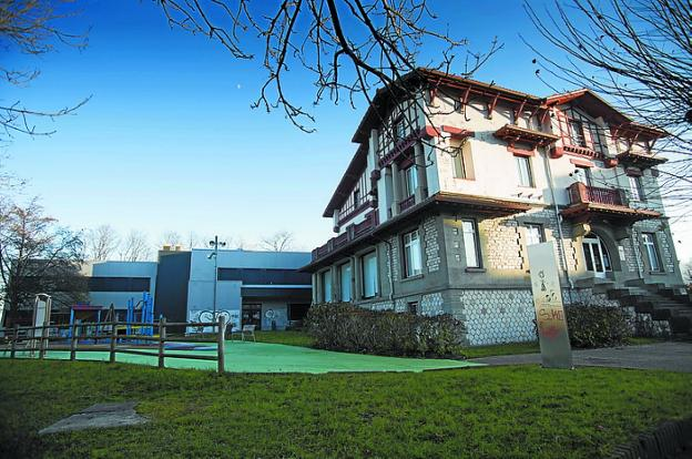 Ducourau. Será la futura sede de Bidasoa activa. /  F. DE LA HERA
