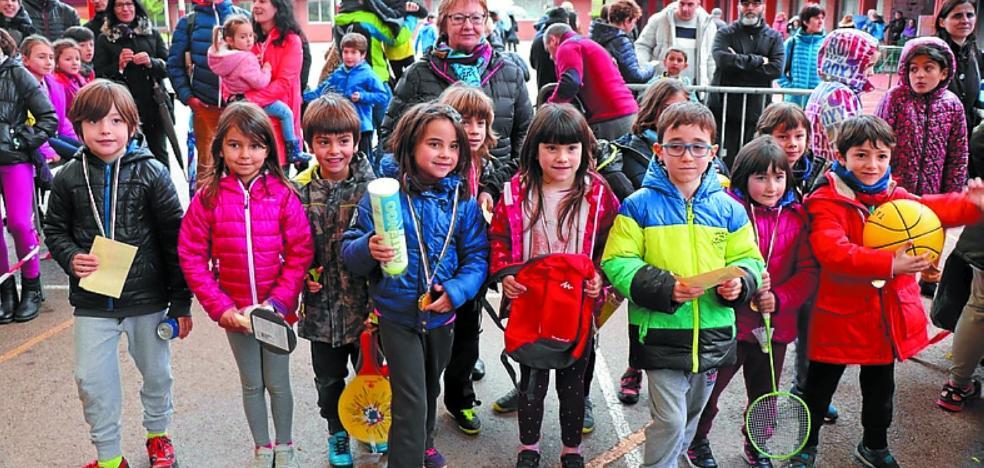 La XXI Euskal Krosa 'Memorial Eneko Castro' fue muy participativa