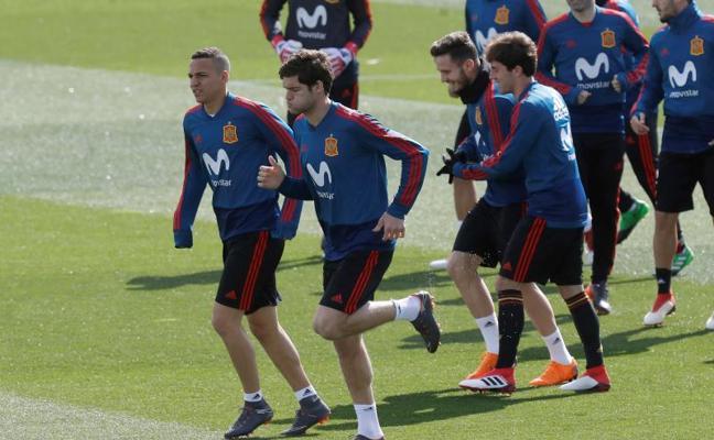 Marcos Alonso y Rodri coinciden: «La absoluta es un premio al trabajo»