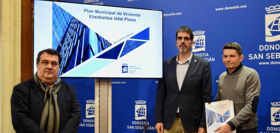 El plan de vivienda de Donostia prevé 4.500 nuevos pisos hasta 2024