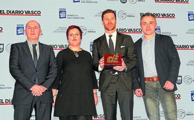 Xabi Alonso: «Solo puedo estar agradecido»