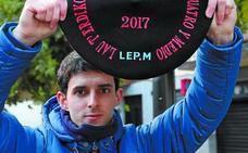 Jokin Altuna: «Mi vida no ha cambiado con la txapela»