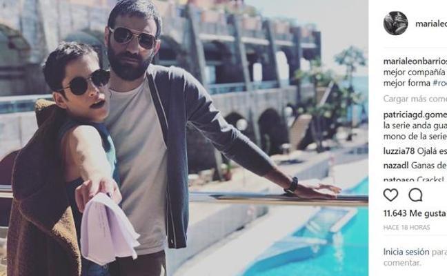 María León y Jon Plazaola ruedan en Benalmádena la cuarta temporada de 'Allí abajo'