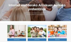 Donostia habilita una web para prevenir adicciones tecnológicas en menores