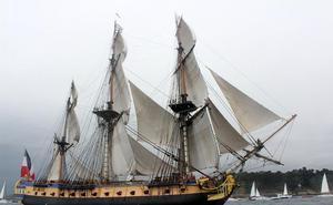 Un centenar de embarcaciones de época participarán en el Festival Marítimo de Pasaia