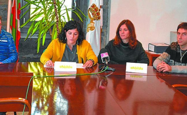EH Bildu aboga por reiniciar el proceso de reforma del Ayuntamiento