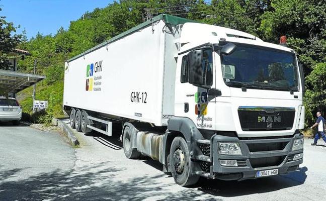 La Diputación apela a la responsabilidad de Mallabia para recibir la basura de Gipuzkoa