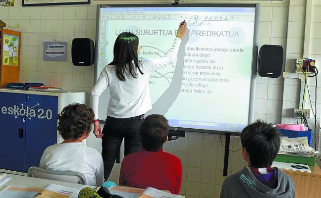 El País Vasco suspende en la eficacia y eficiencia del gasto por alumno