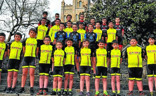 Las futuras promesas del ciclismo, protagonistas mañana en Hegialde