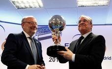 Florentino Pérez: «El equipo peleará hasta el final para intentar dar de nuevo alegría»